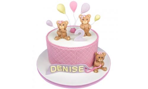 Teddybär-Torte