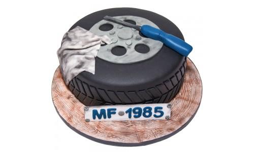 Autoreifen-Torte