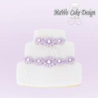 Wedding Cake Cookies, 10er-Set