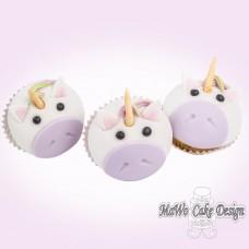 8 Einhorn Cupcakes