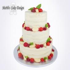 Naked Cake (mit Beeren)