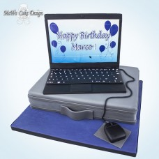 Laptop-Torte