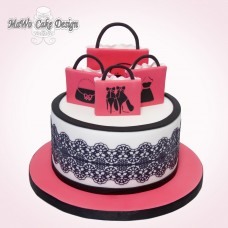 Shopping-Torte