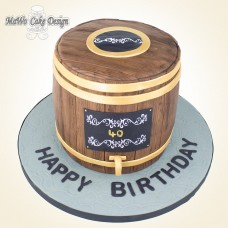 Bierfass-Kuchen