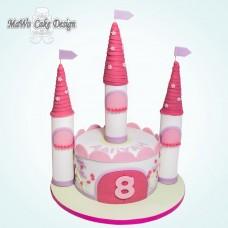 Prinzessin-Schloss-Torte