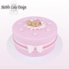 Baby-Torte (rosa)