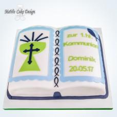 Kommunion-Buch-Torte