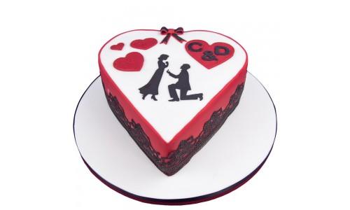 Verlobungs-Torte