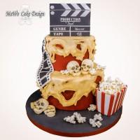 Horror-Film-Torte XXL
