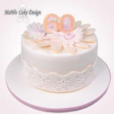 Gänseblümchen-Torte
